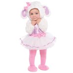 Toddlers Little Lamb Costume - Age 6-12 Months - 1 PC