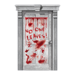 Sinister Surgery Dripping Blood Door Decorations 1.65m x 85cm - 6 PC