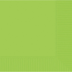 Kiwi Green Dinner Napkins 2ply 40cm - 12 PKG/20