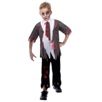 Zombie School Boy Costume - Age 5-6 Years - 1 PC