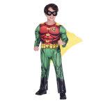 Robin Classic Costume - Age 6-8 Years - 1 PC
