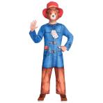 Paddington Bear Costume - Age 3-4 Years - 1 PC