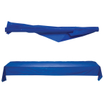 Bright Royal Blue Solid Table Rolls 1m x 30.5m - 1 Roll