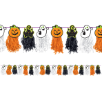 Friendly Mummy Tissue Garlands 2.4m x 24cm - 6 PC