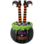 Witches' Crew Inflatable Coolers with Striped Legs 1.4m - 2 PC