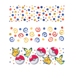 Pokémon 3 Pack Confetti - 12 PC