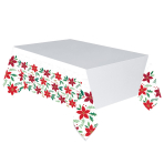 Christmas Wishes Plastic Tablecovers 1.37m x 2.59m - 6 PC