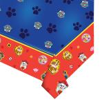 Paw Patrol Plastic Tablecovers 1.37m x 2.6m - 6 PC