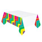 Good Vibes Plastic Tablecovers 1.37m x 2.59m - 6 PC