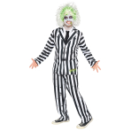Beetlejuice Costume - XL Size - 1 PC