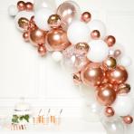 Rose Gold DIY Garland Balloon Kits - 4 PKG/66