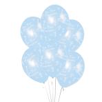 Communion Printed Blue Latex Balloons 27.5cm - 10 PKG/6