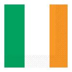 Ireland Flag Luncheon Napkins - 6 PKG/16
