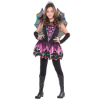 Girls Spider Fairy Costume - Age 4-6 Years - 1 PC