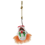 Evil Clown Hanging Heads 26cm x 17cm - 2 PC