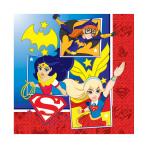 DC Super Hero Girls Luncheon Napkins 33cm - 6 PKG/16