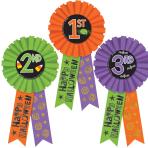 Halloween Award Ribbon Multi Packs - 6 PKG/3