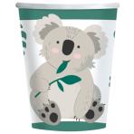 Koala Paper Cups 250ml - 12 PKG/8