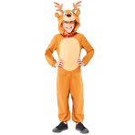 Reindeer Jumpsuit - Age 4-6 Years - 1 PC