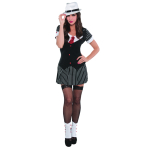 Adults Sexy Dressed to Kill Gangster Costume - Size 10-12 - 1 PC