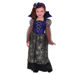 Girls Miss Wicked Web Costume - Age 3-4 Years - 1 PC