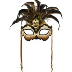 Witch Doctor Fashion Masks - 3 PC