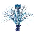 Hanukkah Menorah Spray Centrepieces - 6 PC