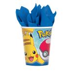 Pokémon Paper Cups 266ml - 6 PKG/8