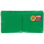 Festive Green luncheon Napkins 33cm - 6 PKG/125