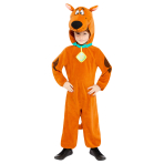 Scooby Doo Costume - Age 8-10 Years - 1 PC