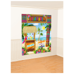 Tiki Scene Setters Wall Decorating Kits - 9 PKG/5