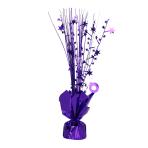 Purple Spray Centrepiece Balloon Weights 30cm - 6 PC