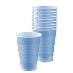 Pastel Blue Plastic Cups 355ml - 10 PKG/10
