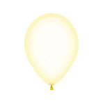 "Crystal Pastel Yellow 321 Latex Balloons 5""/13cm - 100 PC"