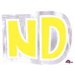 Personalised Letter: ND Stickers - 48 PC