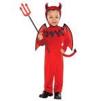 Toddlers Devil Costume - Age 3-4 Years - 1 PC