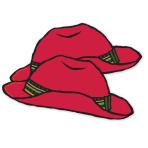Paddington Bear Paper Red Hats - 6 PKG/6