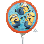 Despicable Me Minions Mini Foil Balloons A20 - 5 PC