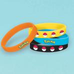 Pokémon Rubber Bracelets - 6 PKG/6