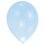 """LED Latex Balloons Blue 11""""/27cm - 12 PKG/5"""