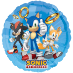 Sonic the Hedgehog Standard Foil Balloons - 5 PC