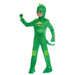 PJ Masks Gekko Deluxe Costume - Age 3-4 Years - 1 PC
