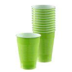 Kiwi Green Plastic Cups 355ml - 20 PKG/50