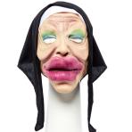 Bee Stung Nun Full Head Mask - 1 PC