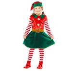 Elf Costume  - Age 4-6 Years - 1 PC