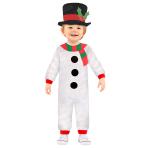 Snowman Jumpsuit - Age 12-18 Months - 1 PC