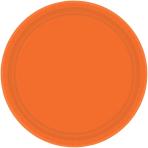 Orange Peel Paper Plates 17.7cm - 12 PKG/8