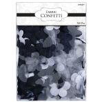 Fabric Petal Black Confetti 5cm - 6 PKG/300