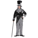 Totally Mad Hatter Costume - Pluz Size - 1 PC