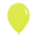 "Neon Solid Yellow 220 Latex Balloons 12""/30cm - 50 PC"